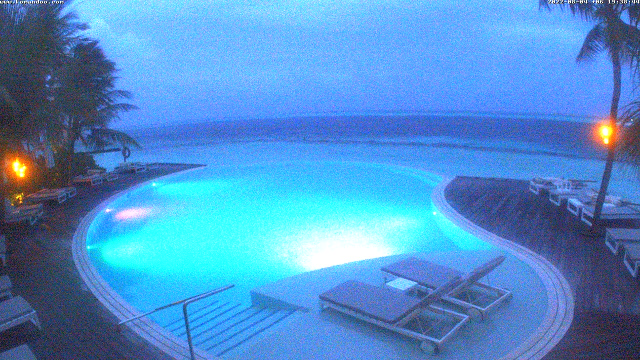 Komandoo Maldives Webcam