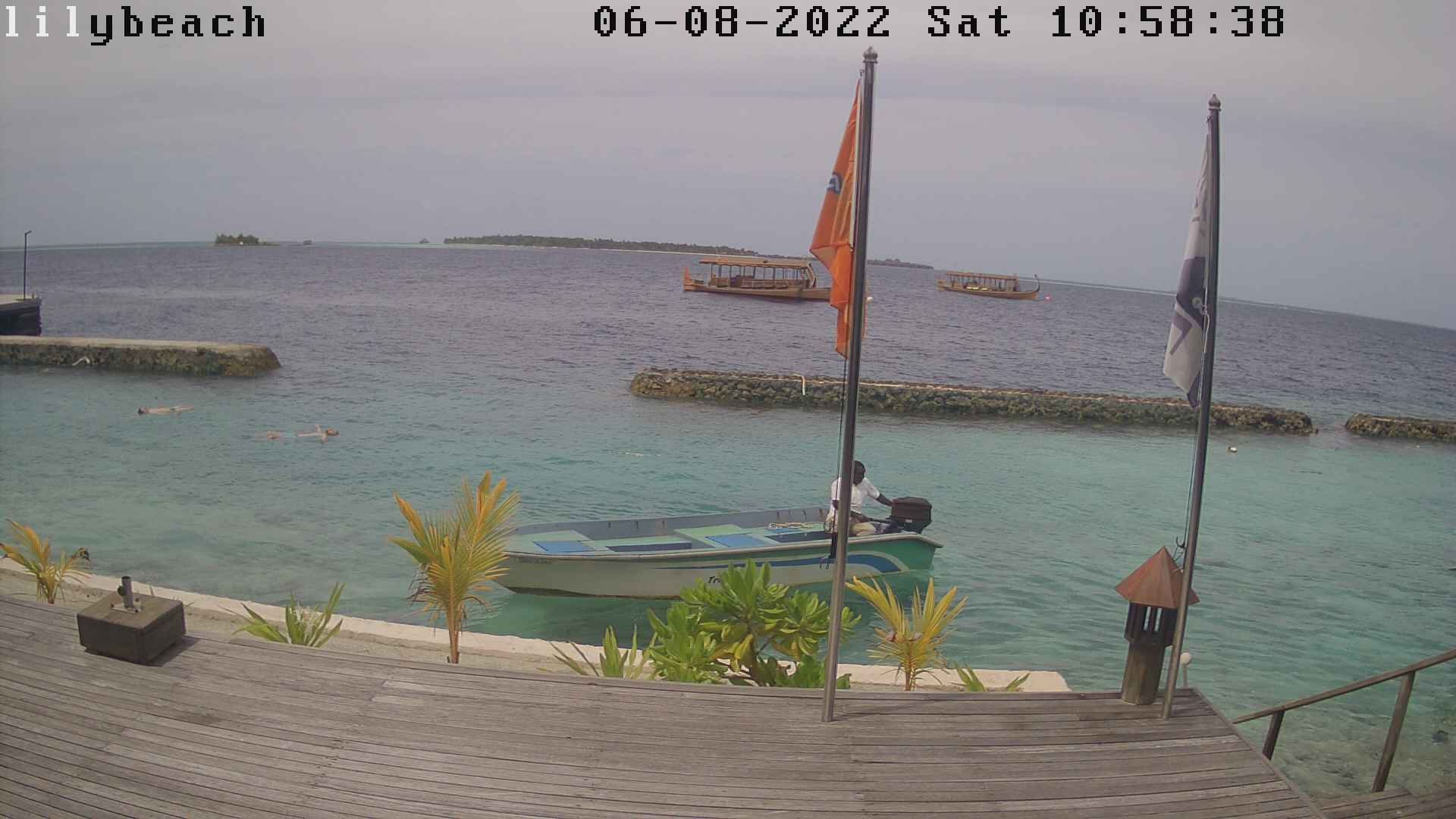 Lily Beach Dive Center Webcam